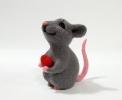 Влюбленный мышонок Ромка.)